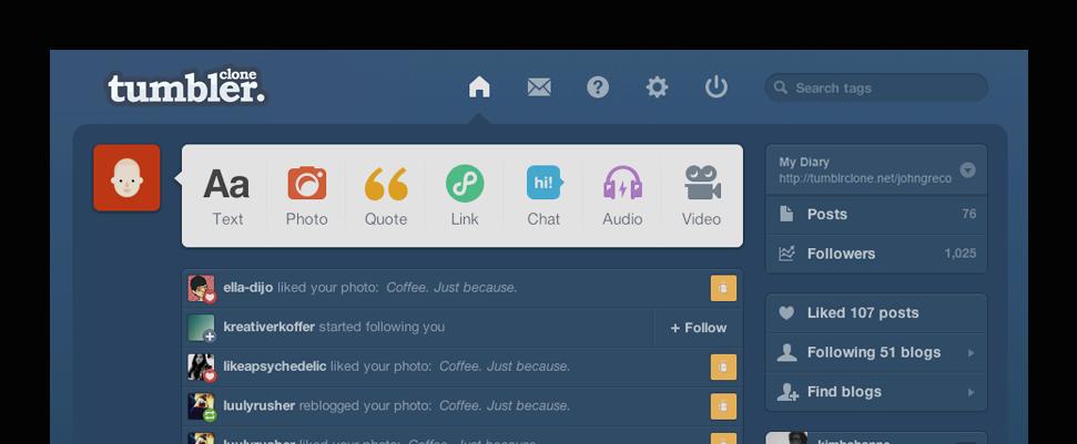 tumblrclone-teaser-graph tumblr clone